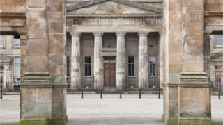 Edinburgh court building