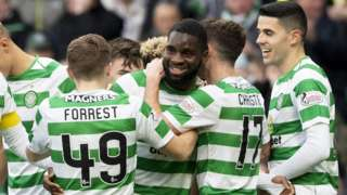 Odsonne Edouard scores two to help Celtic beat Hearts
