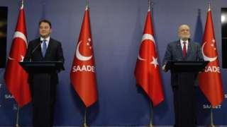 Ali Babacan ve Temel Karamollaoğlu