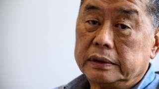 Hong kong pro-democracy media mogul Jimmy Lai