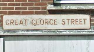 Great George Street sign