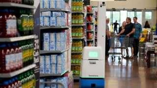 Bossa Nova inventory robot