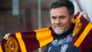 Motherwell manager Graham Alexander