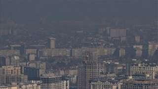Кара түтүн Бишкек