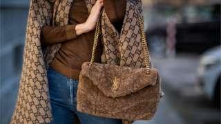сумка і пальто YSL