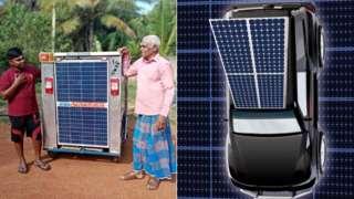 Solar tuktuk
