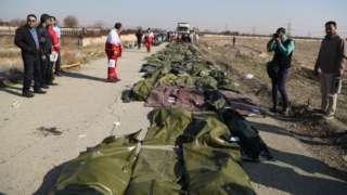 Pesawat Ukraina jatuh di Teheran