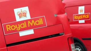 Royal Mail vans