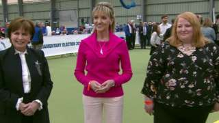 Diane Dodds, Martina Anderson and Naomi Long