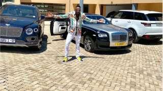 Genius Ginimbi showcase im cars
