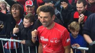 Francis Benali completes challenge