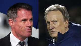Jamie Carragher & Neil Warnock