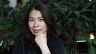 Tác giả Nghiêm Hương hiện sống ở TP Hồ Chí Minh