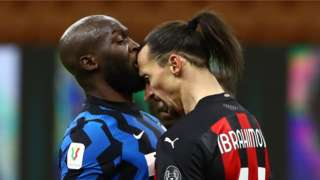 Lukaku and Ibrahimovic
