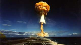 Взрыв во Французской Полинезии