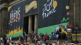 Leeds hosted the Grand Depart of the Tour de France in 2014