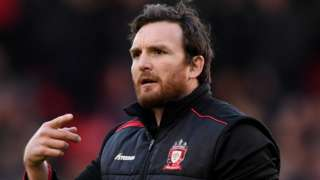 Martin Gleeson joined the Salford coaching staff after ending his playing days there at the end of the 2014 season