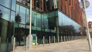 Northamptonshire County Council's new headquarters.