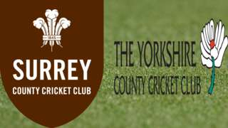 Surrey v Yorkshire