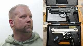Douglas Urquhart and illegal hand pistols
