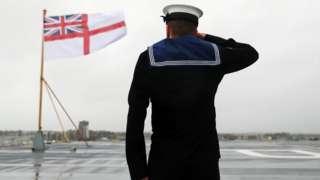 Британский военный моряк