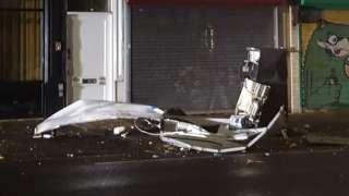 ATM explosion