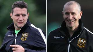Phil Dowson (left) and Alan Dickens