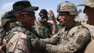 آموزش نفرات عراقی