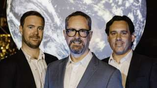 Seraphim Capital's co-founders James Bruegger, Mark Boggett and Rob Desborough
