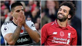 Aleksandar Mitrovic and Mohamed Salah