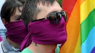 Акция ЛГБТ-активистов в 2012 году