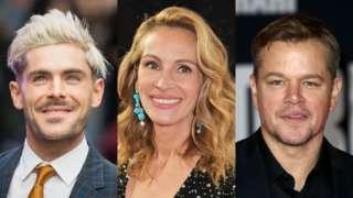 Zac Efron, Julia Roberts, Matt Damon