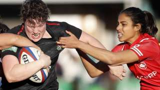 Hannah Botterman of England women's rugby team
