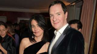 Emily Sheffield and George Osborne