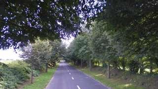 La Grande Route de St Ouen, near to St Ouen's Manor