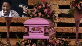 """Prophet TB Joshua burial live"": [Grave, tribute] and how dem bury 'Emmanuel TV, Synagogue preacher for Lagos'"