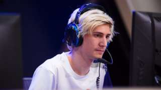 Felix xQc Lengyel at the Overwatch League