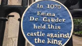 Unofficial blue plaque