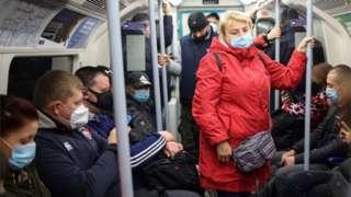 Tube passengers 15/10./20