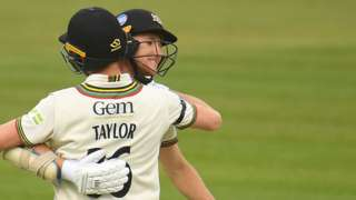 James Bracey's stay at the crease lasted 234 balls and 348 minutes