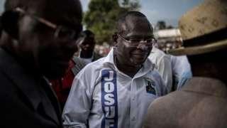 Guy Brice Parfait Kolelas, mmoja wa wagombeaji wakuu wa urais katika taifa la Congo-Brazzaville