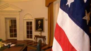 Replica Oval Office in Norfolk.