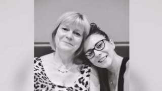 Miriam Lewis with Natalie