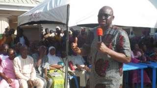 Ayo Fayose atawọn ọmọ ẹgbẹ PDP