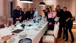 Família presidencial argentina