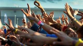Fans at festival
