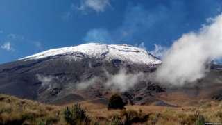 Popocatepetl, central Mexico