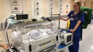 Ipswich maternity unit