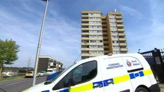 Murder scene - Shipwrights Avenue, Chatham