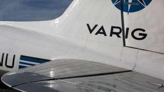 Lataria de avião da Varig